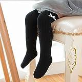 Kleinkind Mädchen Bogen Kniehohe Socken Kinder Baumwolle Solide Lange Kniestrümpfe Baby Herbst Winter Über Knie Socken Minzhi