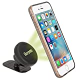 iKross Smartphone Car Mount, Magnetic Car Dashboard Mount Universal 360 Degrees Cradle Holder for Apple iPhone 6s/6, Samsung, HTC, LG, Sony, Motorola, Nokia, Acer, ASUS Cell Phones - Black