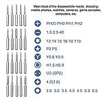 37-in-1-Set-Cacciaviti-di-Precisione-Proffesionale-Magnetico-con-MagnetizzatorePreciva-Kit-Cacciaviti-di-Riparazione-Portatile-per-PC-LaptopOcchialiSmartphoneTabletElettronica-ecc