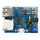 Amazingdeal365 TF card U Disk MP3 Format Decoder Board 3.7~5.5V Decoding Audio Player Module
