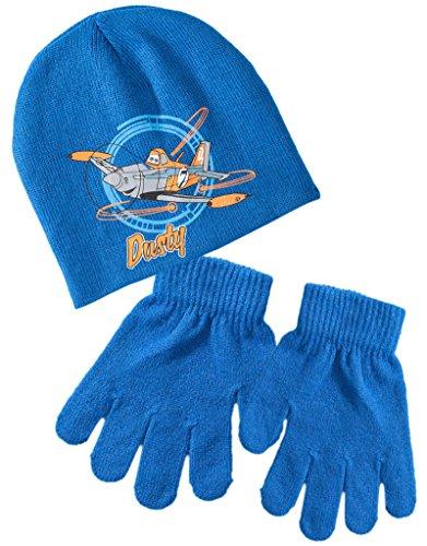 Bonnet et gants enfant garçon Dusty Planes Bleu T54