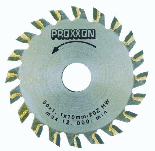 PROXXON 28017 Kreissägeblatt/Sägeblatt Hartmetall - bestückt (20 Zähne)