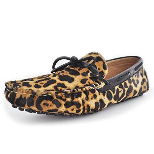 Fulinken , Basses homme Fermeture frontale motif léopard