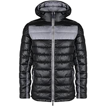 Armani Jeans - Doudoune Noire Homme Réversible U6b03 Mx - 12 - 54
