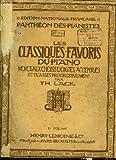 les classiques favoris du piano 1er volume a