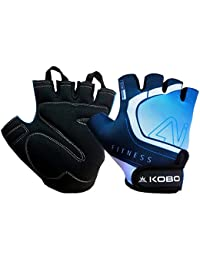 Kobo Fitness Weight Training Hand Protector Gym Gloves (Multicolour)