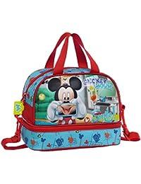 Disney Mickey Smile Neceser de Viaje, 7.13 Litros, Color Azul