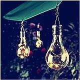 Ularma Impermeable Rotativo Lámpara Bombilla Decorativas LED Luces Solares Exterior Lamparas Led Decoración Perfecto Para Fiestas,Boda,Arbóles Navidad,Jardín,Terraza y Al Aire Libre [Clase de eficiencia energética A++]