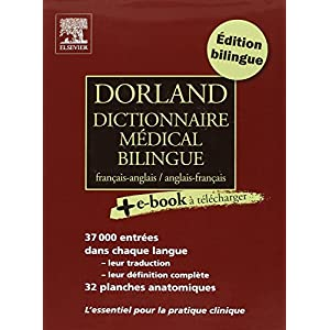 Lis Dorland Dictionnaire Medical Bilingue Francais Anglais