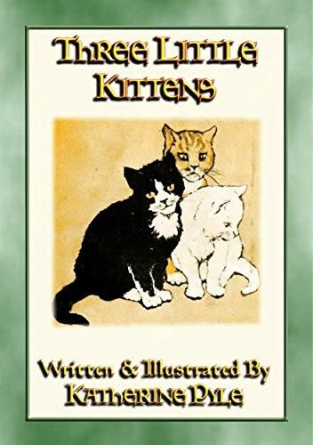 THREE LITTLE KITTENS - The illustrated adventures of three fluffy kittens (English Edition)