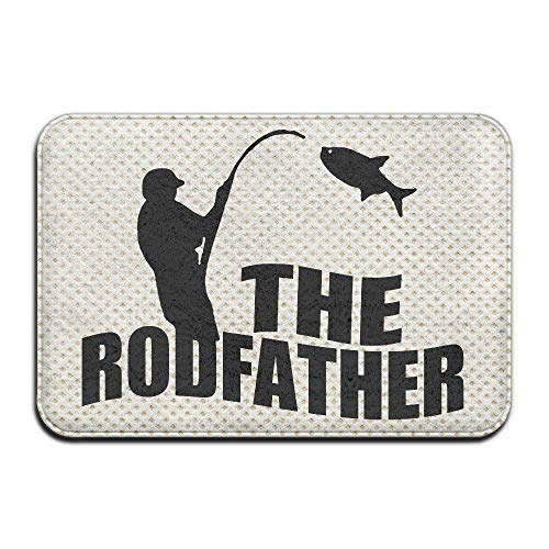 JIEKEIO The Rodfather Indoor/Outdoor/Bathroom Mats 23.6(L) X15.7(W) Inch - Indoor-flag-kit