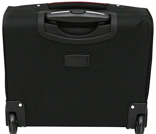 d573b7247e7d ... Executive Laptop Bag Roller Case Wheeled Briefcase Pilotcase 16