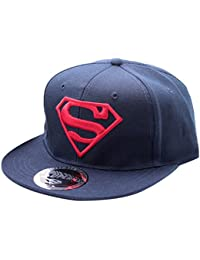 Superman Herren Visor Superman - Logo Navy