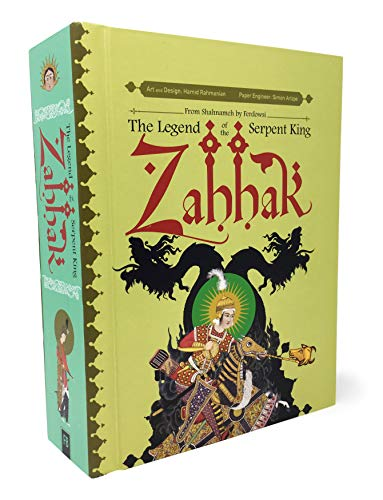 Zahhak: The Legend Of The Serpent King por Hamid Rahmanian