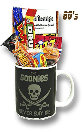 The Goonies  'Never say Die' Mug with Retro Sweets 630gms
