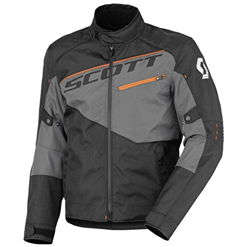 Scott Sport 2 DP Motorrad Jacke schwarz/grau 2016: Größe: XXXL (58/60)