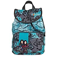 Descendats 13725 Disney Descendants Backpack for Little Girls - School Bag with Mal & Evie - Turquoise - 38 x 26 x 12 cm