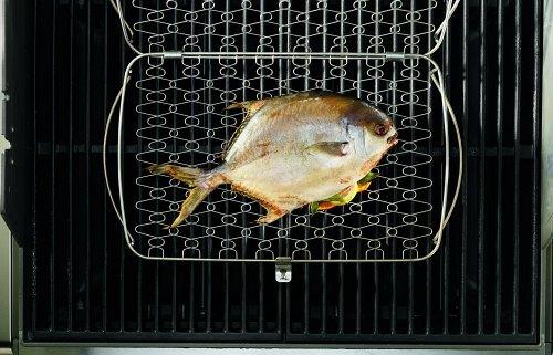 510fBVM9SaL - Weber 6471 Fisch- und Gemüsehalter , groß