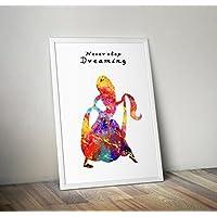 Regali di Poster con acquerelli ispirati agli aggrovigliati - Poster TV/film alternativi in varie dimensioni (cornice non inclusa)