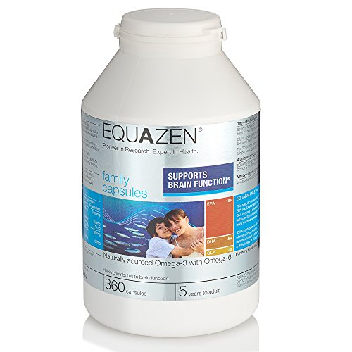 Equazen Eye Q - Gélules pour la famille - Pack de 360 gélules