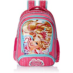 Barbie Pink Children's Backpack (Age group :8-12 yrs)