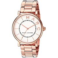 Marc Jacobs Roxy Women's Off White Dial Stainless Steel Plated Band Watch - MJ3523
