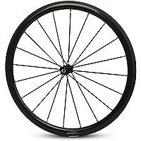 Yuanan 700C Ligero Bicicleta de Carretera Carbono Rueda Clincher/Tubular/Tubeless 38mm Rim con