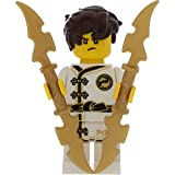LEGO Ninjago Minifigur Jay White Kimono incl. 2 GALAXYARMS Waffen