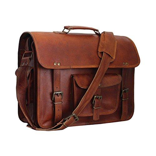 10a7c74d52 36% OFF on Vintage Leather Laptop Bag 15. Vintage Leather Laptop Bag 15