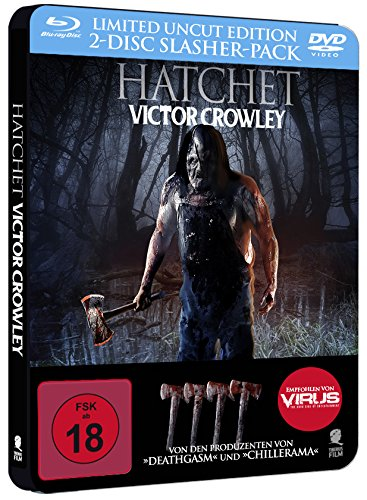 Hatchet – Victor Crowley (Uncut) [Blu-ray + DVD] [Limited Special Steelbook Edition] (vorab exklusiv bei Amazon) [Alemania] [Blu-ray] 510fFeEoy7L