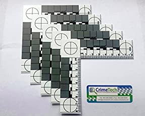 Forensic ABFO No. 2 Photo Scales Metric Pack of 5 EA