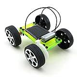 Mini Solar Powered DIY Auto Spielzeug, mamum 1Set Mini Solar Powered Spielzeug DIY Fahrzeug Kinder Educational Gadget Hobby Funny Einheitsgröße grün