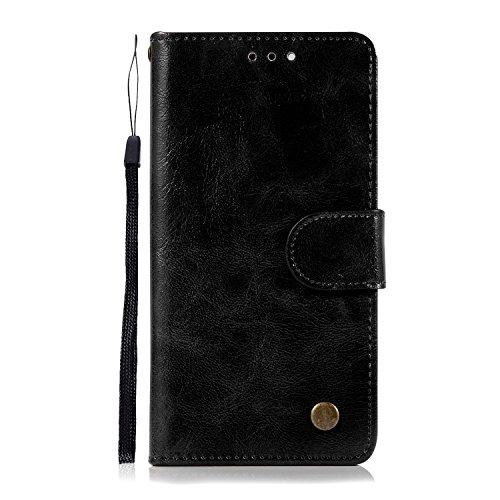 Chreey Google Pixel 2 Hülle, Premium Handyhülle Tasche Leder Flip Case Brieftasche Etui...