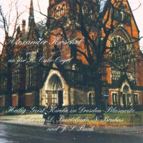 Alexander Koschel spielt an der H.Eule-Orgel in der Heilig-Geist-Kirche in Dresden Blasewitz