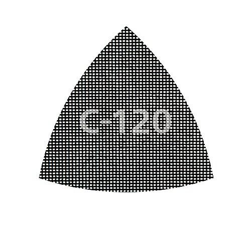 Wolfcraft 8469000 Pack de 5 Tejidos de Rejilla adherente, 95 mm