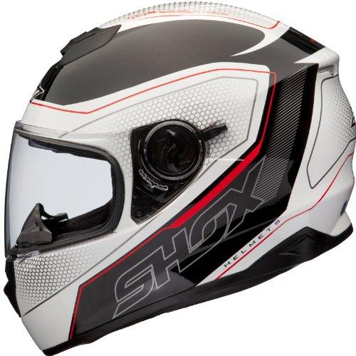 Shox Assault Tracer Moto Casco