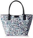 Tom Tailor Acc Damen Miri Diamond Shopper, (blau 50), 43x28x17 cm