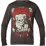 Yakuza Premium Sweatshirt Vintage-306 Dunkelgrau, L