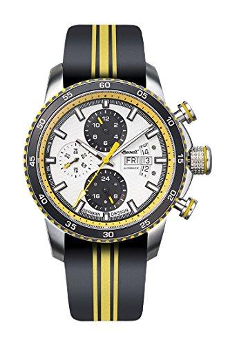 Ingersoll Herren Analog Automatik Uhr mit Leder Armband IN1717YL