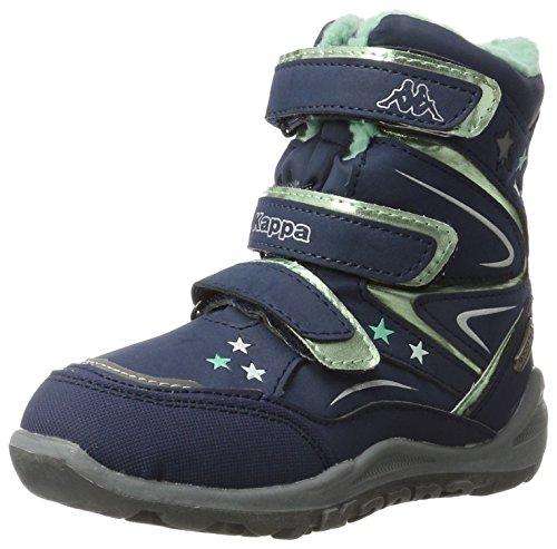 Kappa Mädchen Stellar TEX Combat Boots, Blau (6737 Navy/Mint), 31 EU