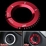 Odster Engine Ignition Switch Button Cover Trim Ring Interior Car Styling for Mercedes Benz E Class GLK GLA 2014 2015 Car Accessories