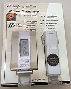 Eddie Bauer Indoor Outdoor 915MHz Wireless Thermometer WS-7013EB-IT-CBP