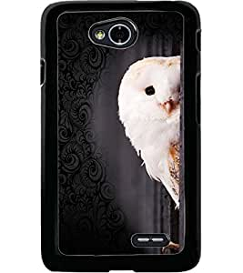 ColourCraft Cute Owl Design Back Case Cover for LG L70
