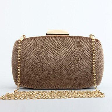 pwne L. In West Woman Fashion Luxus High-Grade Flannelette Abend Tasche Gold