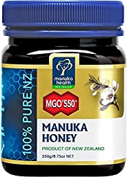 Manuka Health Mgo 550 Manuka Honey, 250g