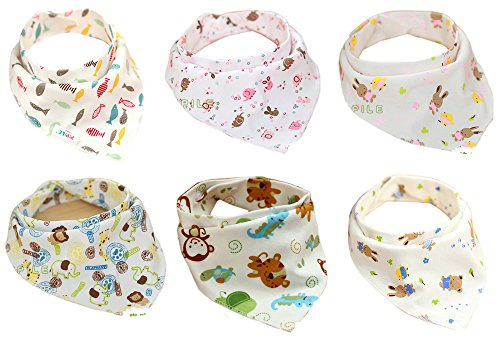 jiexir-6pcs-100-algodon-32-43-cm-lovely-unica-y-juego-de-baberos-bandana-para-bebe-con-ajustable-cor
