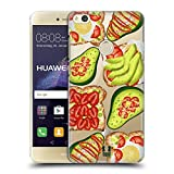 Head Case Designs Toast Und Guacamole Alles Ueber Avocados Ruckseite Hülle für Huawei P8 Lite (2017)