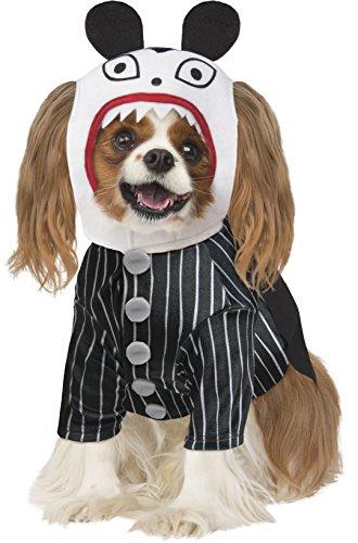 Kostüm Scary Große - Rubie 's Disney: Nightmare Before Christmas Kostüm für Haustiere, Scary Teddy, groß