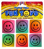 6 mini juguetes de plástico Muelle furtivo