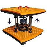 HHBO 3Pcs Farbe Twister Platte Twist Brett Magnetplatte Twist Disk-Abnehmen Beine Fitnessger?te Kleine Haushalts Fitness Produkt , Yellow